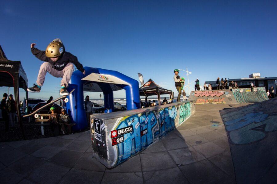 709850b884b611 Mais de 60 skatistas participaram da 1ª etapa da Liga Litoral Norte de Skate  que aconteceu nesse domingo (20 05) na pista pública de Skate de Torres